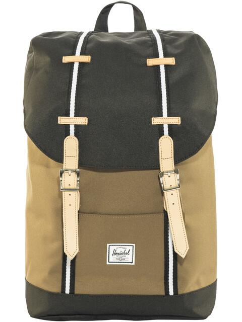 Herschel Retreat Mid-Volume Backpack Cub/Black/White